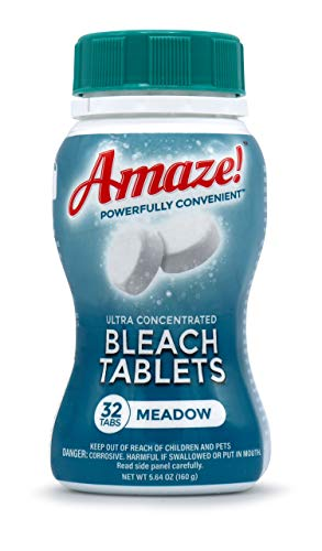 AMAZE! Ultra Concentrated Bleach Tablets for...