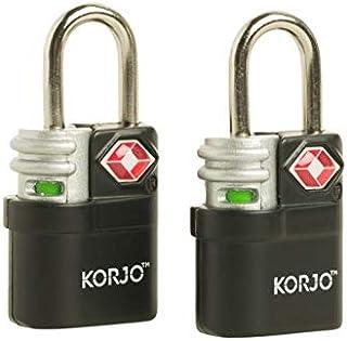 Korjo Luggage Lock, 4 Centimeters, Black