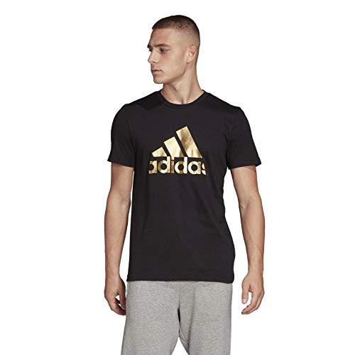 adidas 8-Bit Foil Grfx, T-Shirt Uomo, Black, L