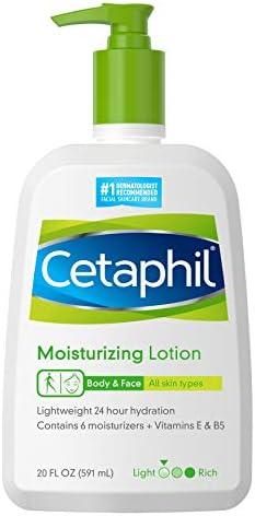 Cetaphil Moisturizing Lotion 20 Fl Oz Instant Long Lasting 24 Hour Hydrating Moisturizer for product image