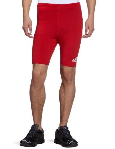adidas 743259 - Pantaloncini ciclista, rosso (rosso), S
