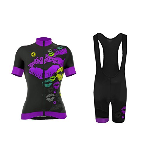 Uglyfrog Cyclisme Sport Maillot Manches Courtes Cuissard Shorts Femme
