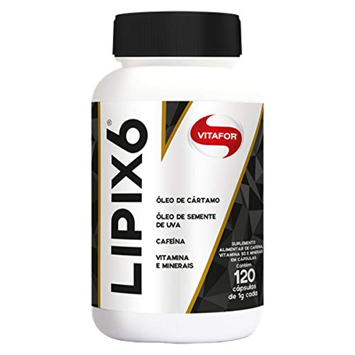 Lipix6 - 120 Cápsulas - Vitafor, Vitafor