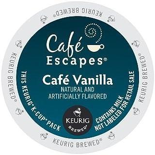 Cafe Escapes Keurig K Cups, Vanilla, 48 Count