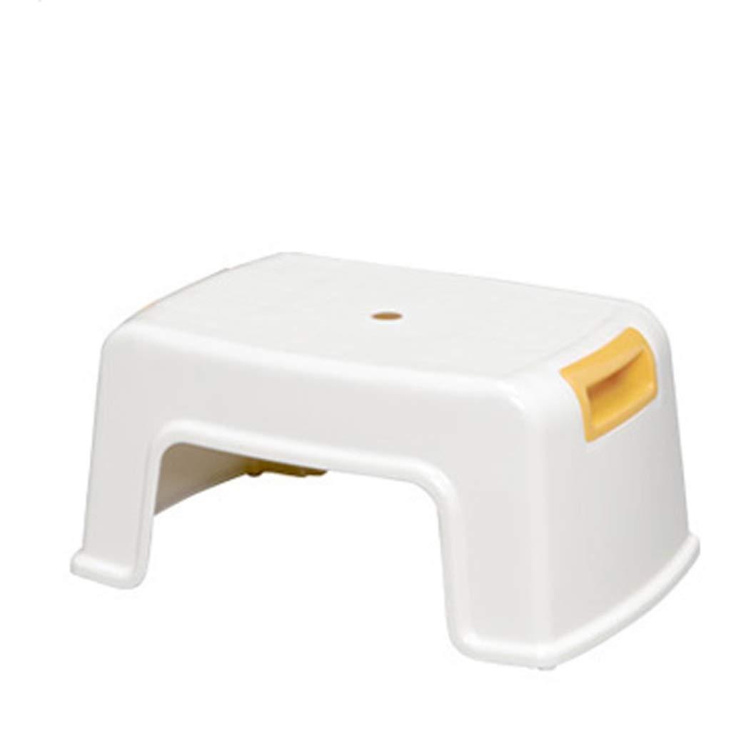 Llsdls Taburete de paso para niños, Escalera de plástico resistente para uso en lavamanos y entrenamiento