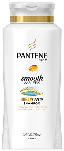 Pantene Pro-V Medium-Thick Hair Solutions Frizzy to Smooth Shampoo 25.40 oz