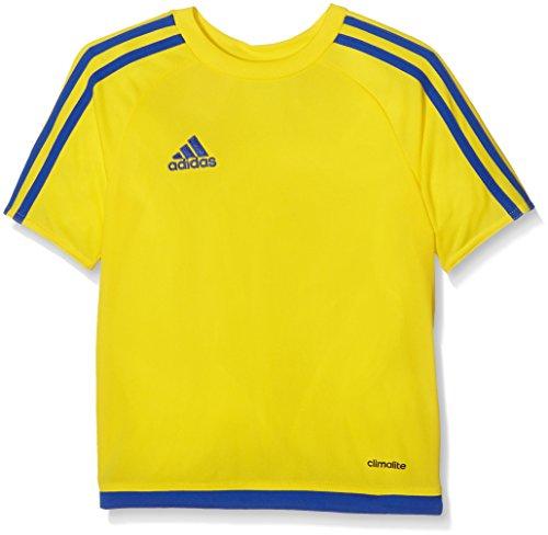 adidas Estro 15 JSY - Camiseta para hombre, color amarillo / azul, talla 152