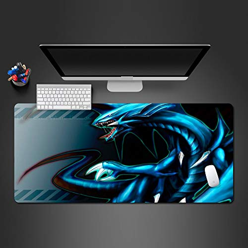 Mouse Pad 900X400*3Mmsuper Cool Blue Dragon Mouse Pad Pc Gaming Keyboard Mouse Bureau Matten Game Team Muis Game Pad Persoonlijkheid Geschenken