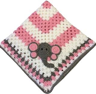 Baby Blanket with Crochet