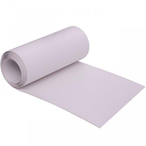 Videx-Sichtschutzstreifen Hart-PVC Longlife, weiß, 19 x 205cm