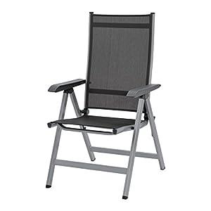 Kettler Basic Plus Advantage Gartenstuhl-Hochlehner verstellbar - einfach zusammenklappbar - praktischer Klappstuhl…