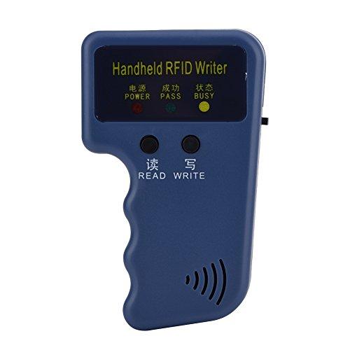 Handheld-RFID-ID-Kartenkopierer, ID-Kartenkopierer Reader Writer Duplicator 6 beschreibbare Tags und 6 Karten mit nur Zwei Lese- und Schreibknöpfen für das Community School Office