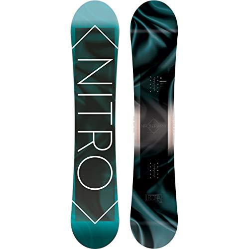 Nitro Snowboards Damen Lectra '19 Board, Mehrfarbig, 138