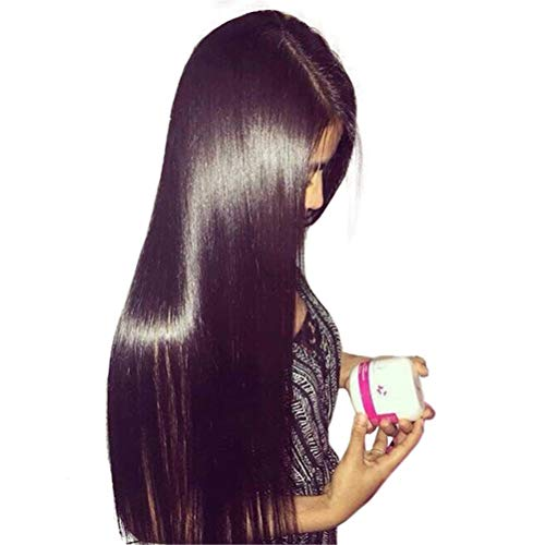Jiafa Belle 8A Naturel Couleur Droite Vierge Trame de cheveux brésiliens (taille : 10inch 100g)