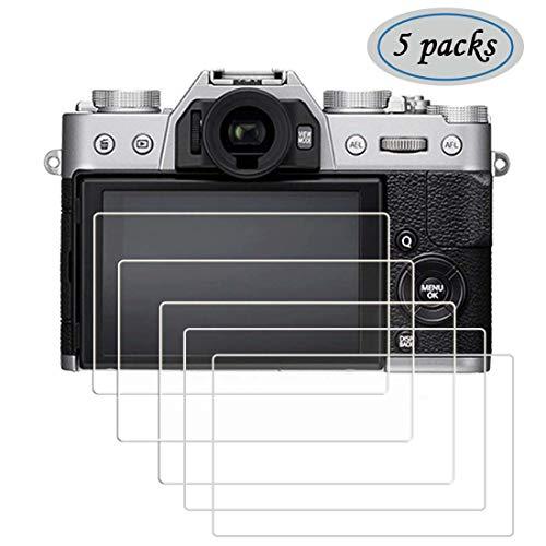 FitHom Screen Protector Compatible Nikon P1000 Digital SLR Camera 9H Optical Hard Tempered Glass Cover Protects Full Cover (5 Pack)
