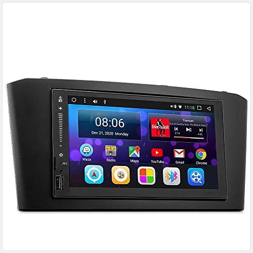 TUNEZ® Autoradio Android de remplacement compatible avec Avensis 2003-2008 T250 stéréo, support Bluetooth, entrée auxiliaire Mirrorlink USB/AM/FM/MP4/MP3