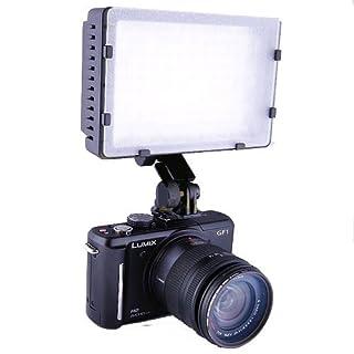 Luce Videocamera DV Camcorder con 9,0 Watt 160-LED per Canon 750D 700D 650D 600D, 70D, 60D, 7D, Nikon D5300, D3300,D3200, D7100, Olympus, Pentax, Panasonic fotocamere DSLR e videocamere. (B003LAB34I) | Amazon price tracker / tracking, Amazon price history charts, Amazon price watches, Amazon price drop alerts
