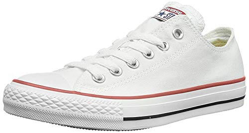 Converse Chuck Taylor All Star, Zapatillas de Lona Infantil, Blanco, 31.5 EU (13 UK)