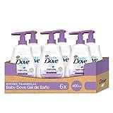 Baby Dove Gel de Ducha para Bebés Noches Tranquilas - Pack de 6 x 400 ml (Total: 2400 ml)