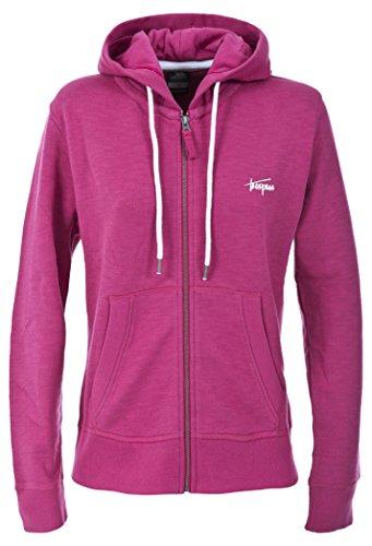 Trespass Swish Sweat-Shirts à Capuche Femme, Cerise, FR : S (Taille Fabricant : S)