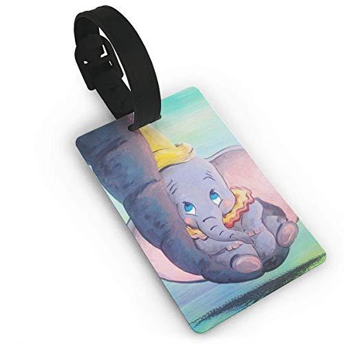 Dumbo jugando cerca de mí Etiquetas de equipaje Maleta de mano Identificación de viaje Etiqueta de equipaje