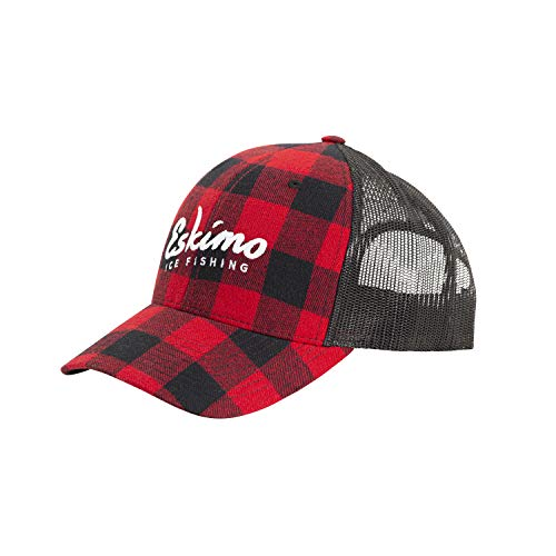 Eskimo Buffalo Plaid Trucker Cap Buffalo Plaid One Size