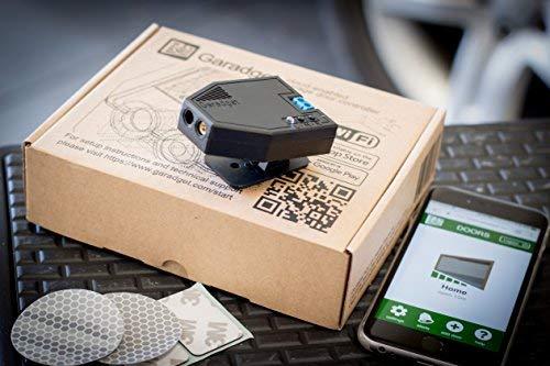 Garadget WiFi Smart Garage Door Controller - Remotely Control and Monitor Your Existing Garage Door...