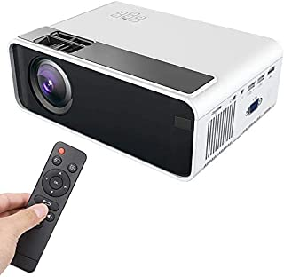 ZLSANVD Mini HD Projector Mini HD 1080P LED Smart Projector Home Theater HDMI Home Beamer Home Projector Home Media Player...