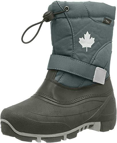 Indigo Canadians 467-185 Kinder Winter Stiefel Snow Boots (38, Dk. Grey)