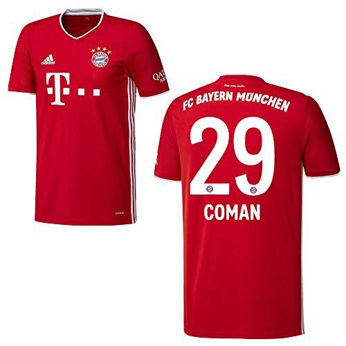 adidas Bayern Trikot Home Herren 2021 - COMAN 29, Größe:XXXL
