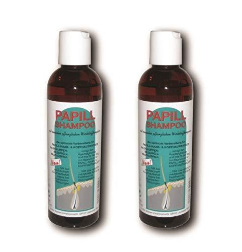 Justus System Haarkosmetik Papill Shampoo 200ml Haarshampoo 2 Stück