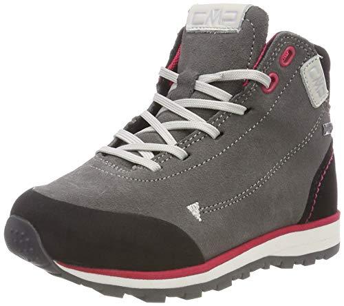 CMP Unisex dziecięce buty trekkingowe Elettra Mid, Szary Grey U739, 28 EU