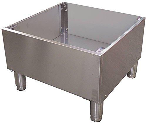 Untergestell für Spülmaschinen Breite 570mm Höhe 568mm Lochabstand variabelmm Tiefe 40mm