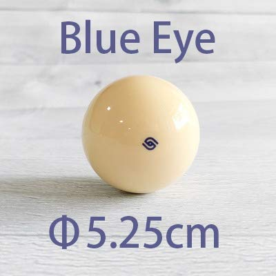 LSB-TAIQIU, 1pc Billar Snooker Cueball de Entrenamiento Bolas 5.25/5.72cm SNK Bola de Piscina Práctica (Color : Blue Eye 5.25cm): Amazon.es: Hogar