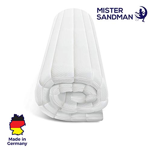 Mister Sandman weicher Topper aus Kaltschaum für ergonomisches Liegen – punktelastische und...