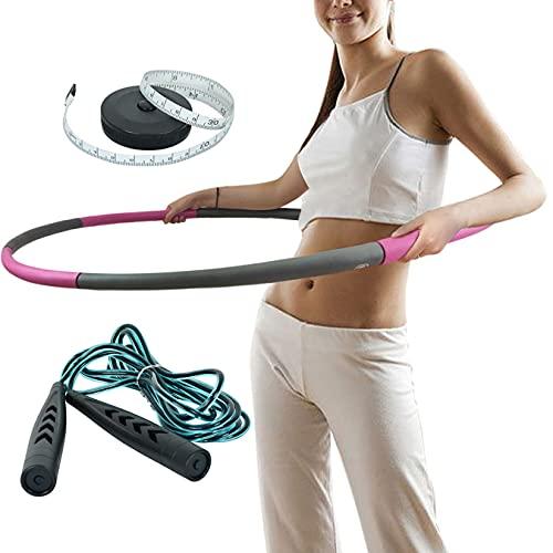 sigando Hula Hoop Reifen Erwachsene Verstellbar Hoola Hoop Anfänger Fitness Testsieger