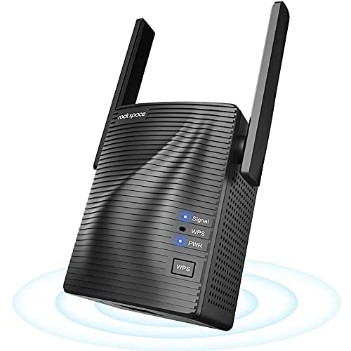 Ripetitore Segnale WiFi - Extender WiFi AC1200 WiFi Ripetitore Dual Band, Ripetitore WiFi Wireless...