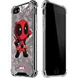 Skinit Clear Phone Case Compatible with iPhone 8 - Officially Licensed Marvel/Disney Deadpool Hello Design