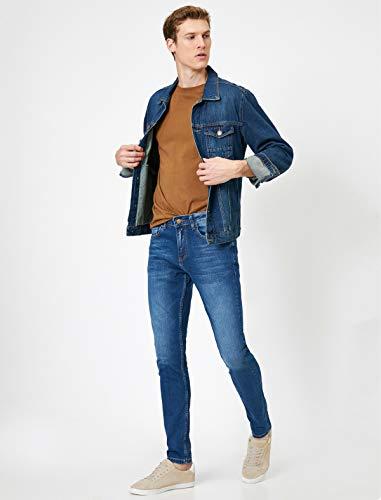 Koton Herren Skinny Jeans, Blau, 3734