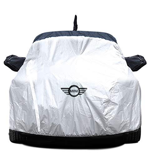 Volle Auto-Abdeckung/Kompatibel mit Mini Cooper/Allwetter verdicken Car Cover Anti-Frost Schnee Auto Kleidung Indoor- und Outdoor-Mobile Auto-Garage Four Seasons Universal Car Shelter