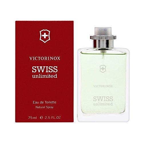 Victorinox VSU EdT - Botella de cristal (75 ml)
