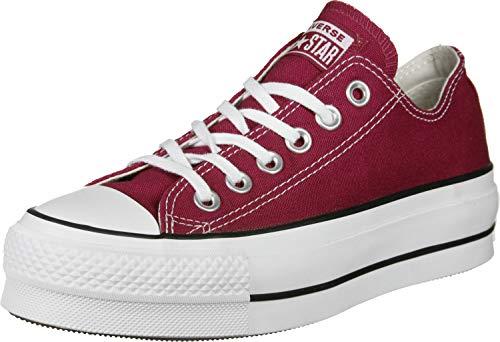 Converse, CTAS Lift Rhubarb 563496C Zapatillas para Mujer