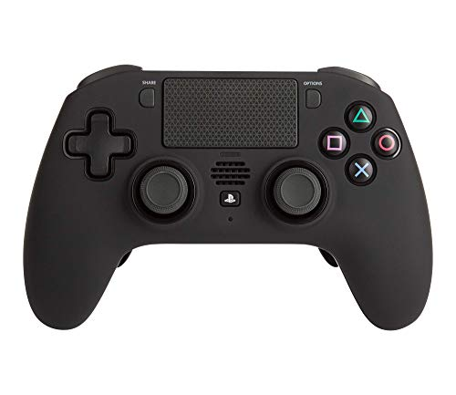 FUSION Pro Wireless Controller für PlayStation 4 - PS4-Gamepad, PS4-Bluetooth-Controller, Dual Rumble-Motoren, Touchpanel, offiziell von Sony Europe für PlayStation 4 lizenziert