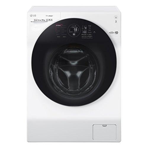 LG Electronics F 14WM 10GT Waschmaschine Frontlader / A+++ / 140 kWh/Jahr / 1400 UpM / 10 kg / Intelligente Beladungserkennung / Steam Wash Technologie