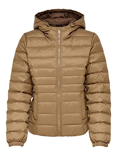 ONLY Female Steppjacke Kurz geschnittene XSToasted Coconut
