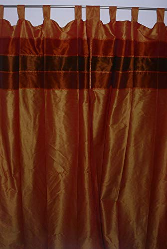 Marrakech Accessoires Orientalischer Vorhang Schlaufen Schal 110 cm x 240 cm (1 Stück) - 905307-0001