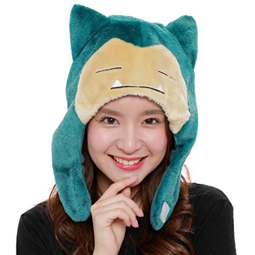 SAZAC Kigurumi Mütze – Pokemon – Schnorchelmütze – Cozy Costume Beanie Cap – Erwachsene Größe