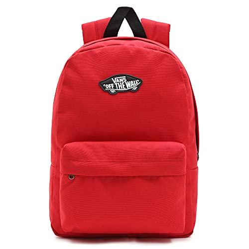 Vans New Skool Backpack Boys, Mochila Unisex niños, Chili Pepper, Talla única