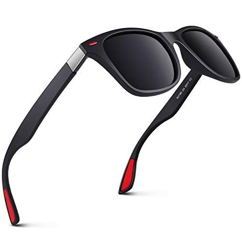 GQUEEN Gafas de Sol polarizadas hombre Mujere TR90 para