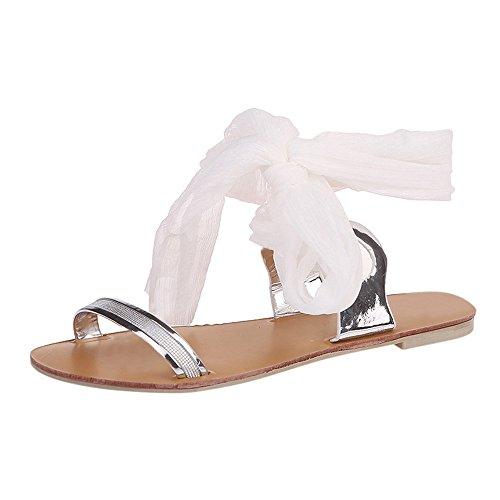 Espadrilles Femme Plateformes Plates à Lacets Sandales d'Été Alaso Clip Toe Romaines Style Sandale Chaussures de Ville Pas Cher
